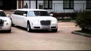 Азербайджанская свадьба в Москве. СУПЕР!!! Колонна лимузинов. Кызылджа рулит!!!