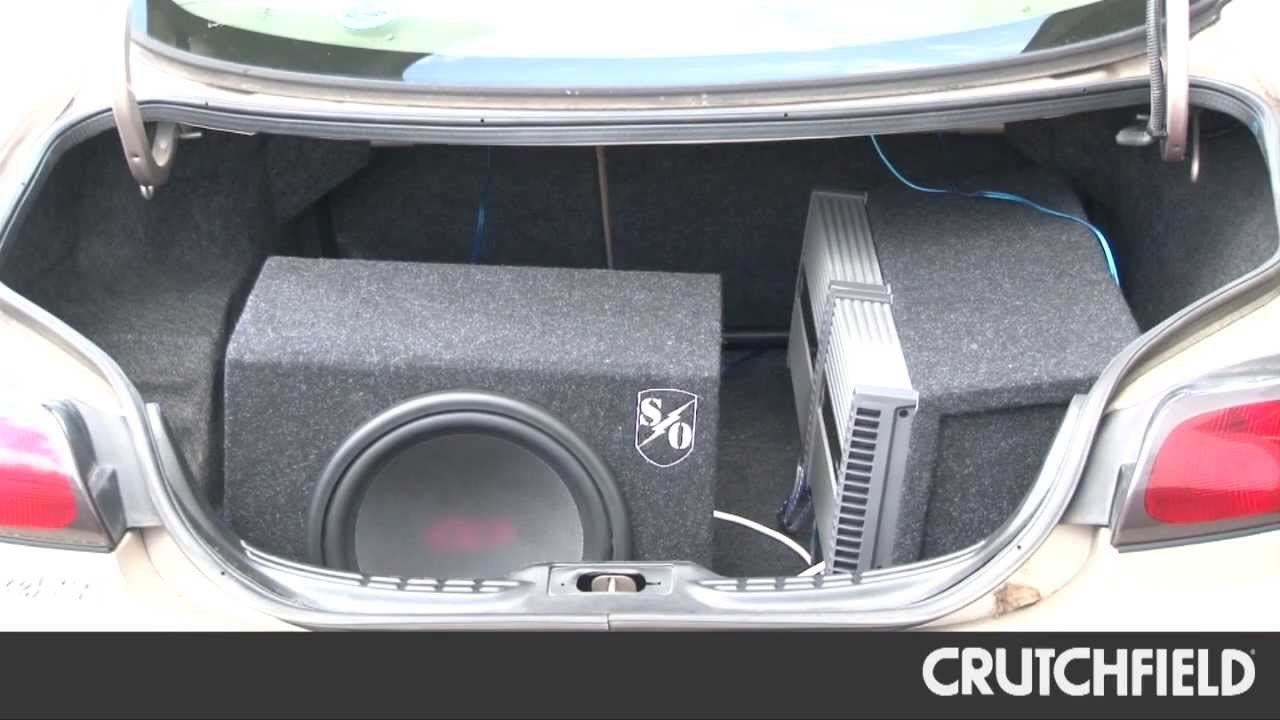 How To Position Your Subwoofer For Loud Bass Crutchfield Video Jeep Wrangler Kicker Speaker System Also Cvr 12 4 Ohm Wiring Youtube