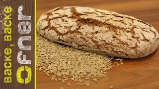 Vollkornbrot backen | Backe backe Ofner
