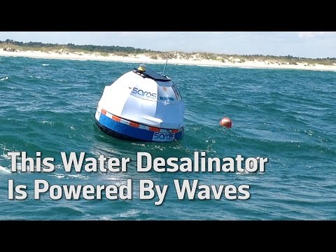 This Water Desalinator Is Powered By Waves