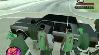 GTA SA Gang War - Mod Test