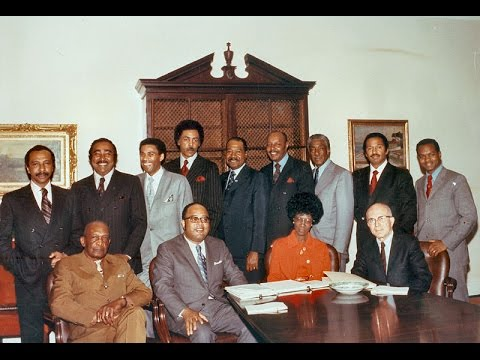 Thurgood Marshall: New Members Swearing-In: Congressional Black Caucus (1991)