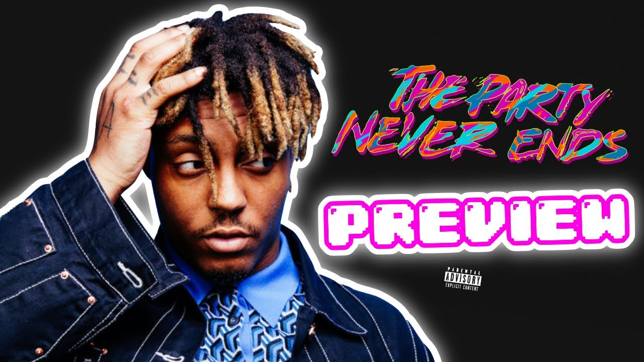 """Juice WRLD """"The Party Never Ends"""" PREVIEW *first snippet*"""