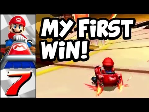 Mario Kart 7 First Win! - Nintendo Competitive Gaming Begins