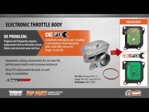 Electronic Throttle Body | 977-025 | Electronic Throttle