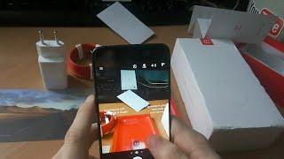 Распаковка OnePlus 5, первое впечатление, обзор камер
