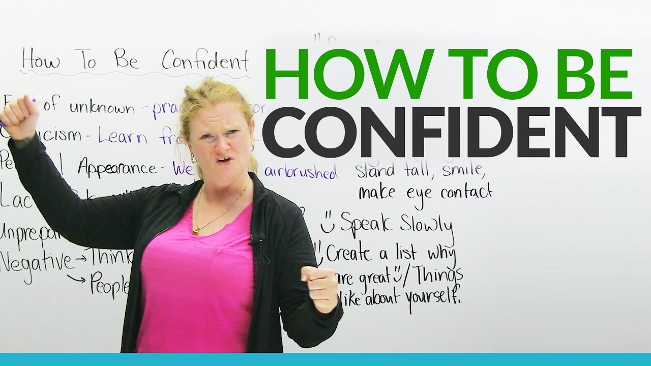How to be confident youtube how to be confident ccuart Images
