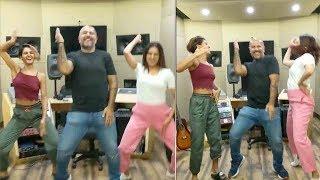 Shakti Mohan's FAADU Dancing on BAALA-0h-BAALA Song wid its singer Vishal Dadlani