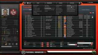 Fussball Manager 08 GAMEPLAY