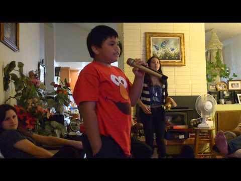 Josh Karaoke Time with the Klang