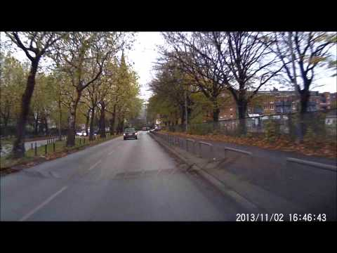 Rollei CarDVR 70 DRIVE Test KFZ Dashcam Car DVR Dash cam Autokamera wie 100 110