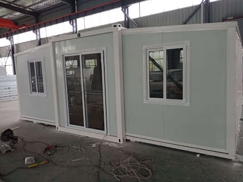 20ft expandable container house for Australian market
