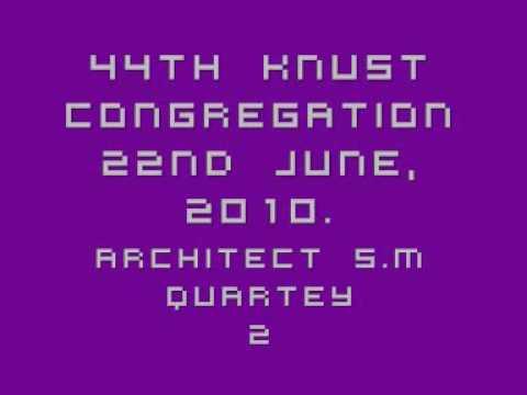 44th KNUST Congregation 100621-2 S.M Quartey motivates cap graduands 2