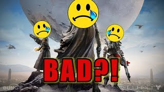 Why Was Destiny 1 SO BAD?!
