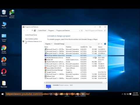 rivatuner statistics server technology uninstall
