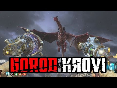Black Ops 3: Zombies: 'Gorod Krovi' EPIC First Live Attempt!