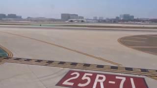 Los Angeles-Miami lie-flat AA business class flight w/dining: Capistrano, Salton Sea 2016-06-28