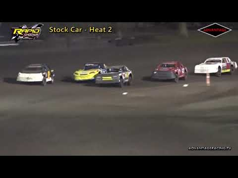 Stock Car Heats - Rapid Speedway - 9/14/18