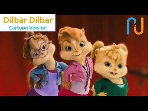 DILBAR Whatsapp Status Video Cartoon Version | Bollywood Song Cartoon Version