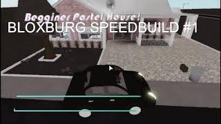Bloxburg Speedbuild #1 [Begginer's Pastel House] BUDGET: 20K$ I Roblox-Bloxburg I Panda bear UwU