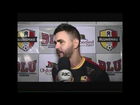 Blumenau Futsal ganha espaço exclusivo no Galegão