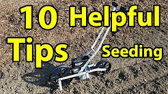 10 Garden Tips Using a Earth Way Seeder - Easy Organic Gardening Series 101 Tips & Secrets # 4