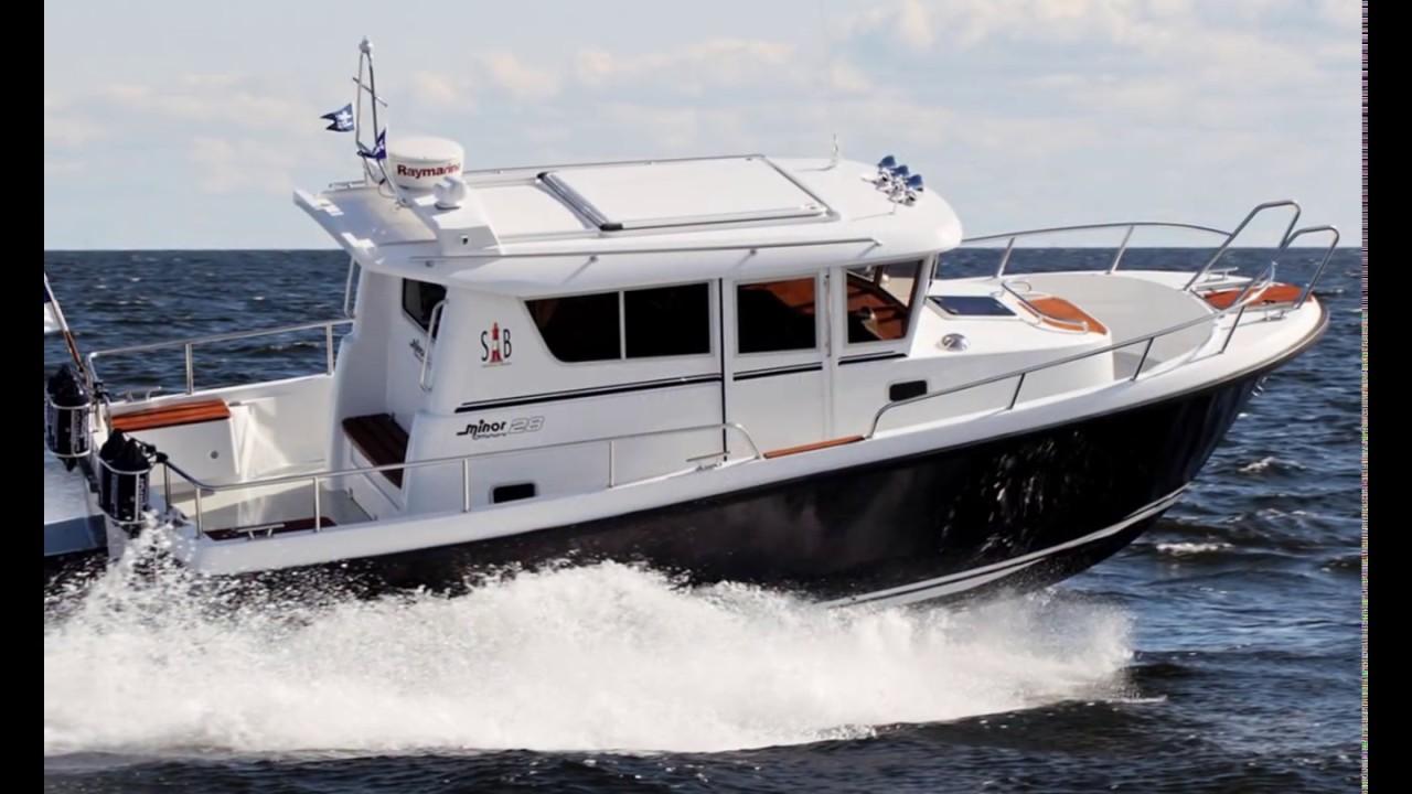 St. Petersburg International Boat Show 2017. Выставка катеров и .