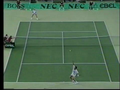 Davis Cup 89 Steeb vs Agassi