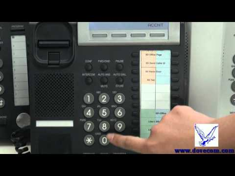 How to use a Panasonic KX-DT300, KX-NT300 series phone