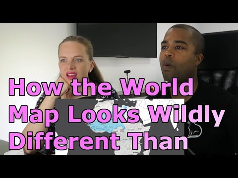 How the World Map Looks Wildly Different Than You Think (REACTION 🔥)
