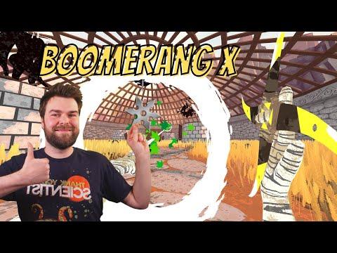 Boomerang X Game | Ninja Star Arena Shooter Demo? 4K |