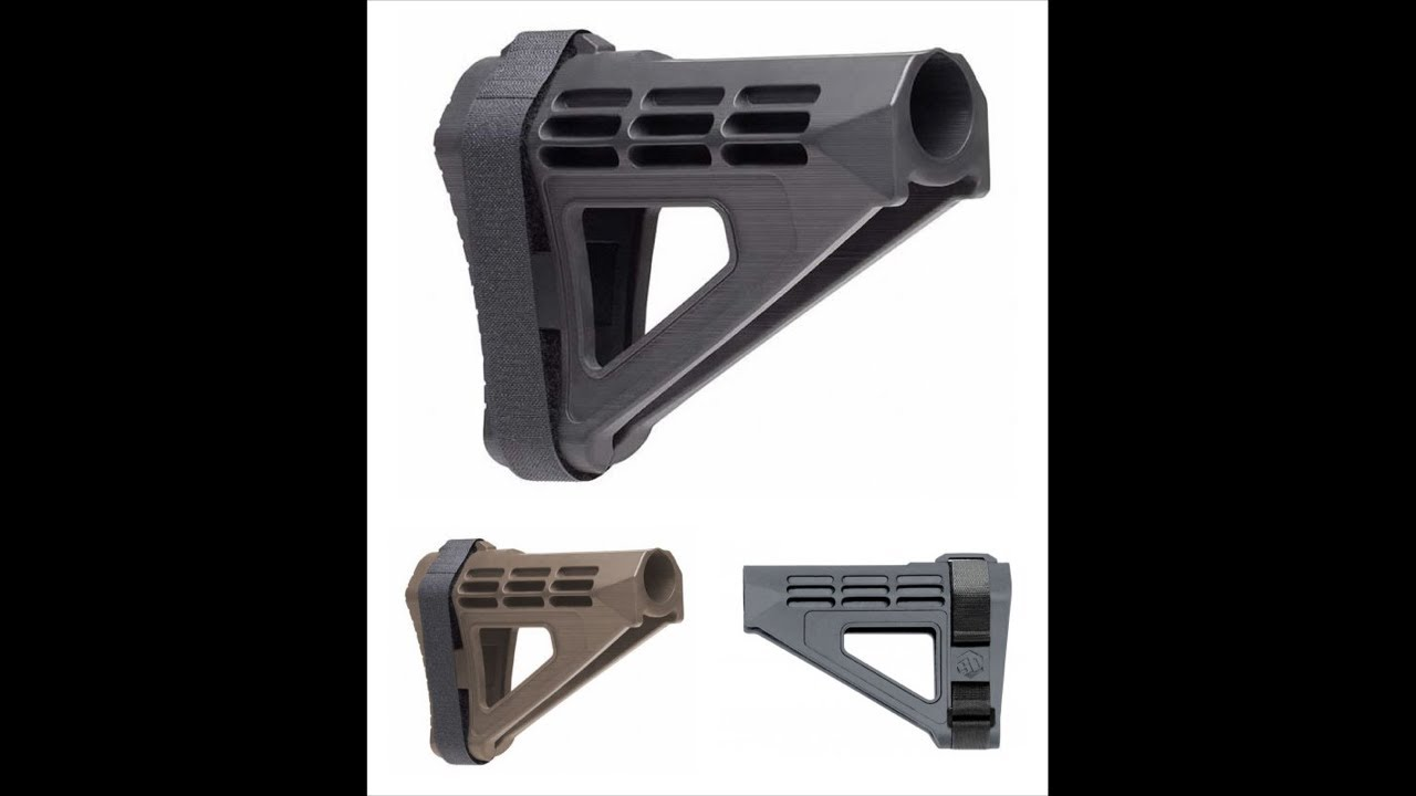 ATF Singles Out 23 Pistol Braces As Unapproved Devices