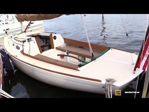 2015 Alerion Express 28 Sailing Yacht - Walkaround - 2015 Annapolis Sail Boat Show