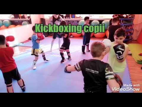Kickboxing children training