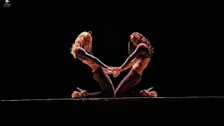 Strip-plastic duet!!! Lucia Lazebnaya & Anastasia Romantsova