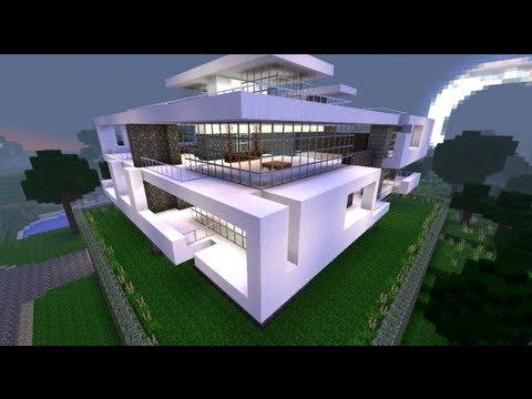 Minecraft tuto :  construction maison moderne (_partie 1_)