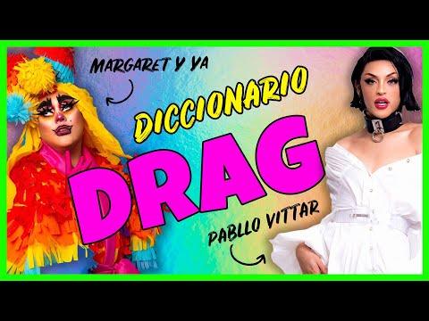 Pabllo Vittar y Margaret y Ya te enseñan a hablar como drag