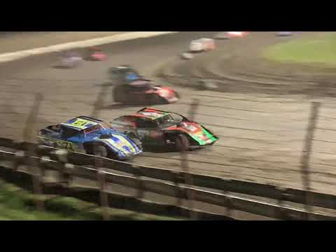 Lee County Speedway Shiverfest Modified Feature part 1 10-27-19