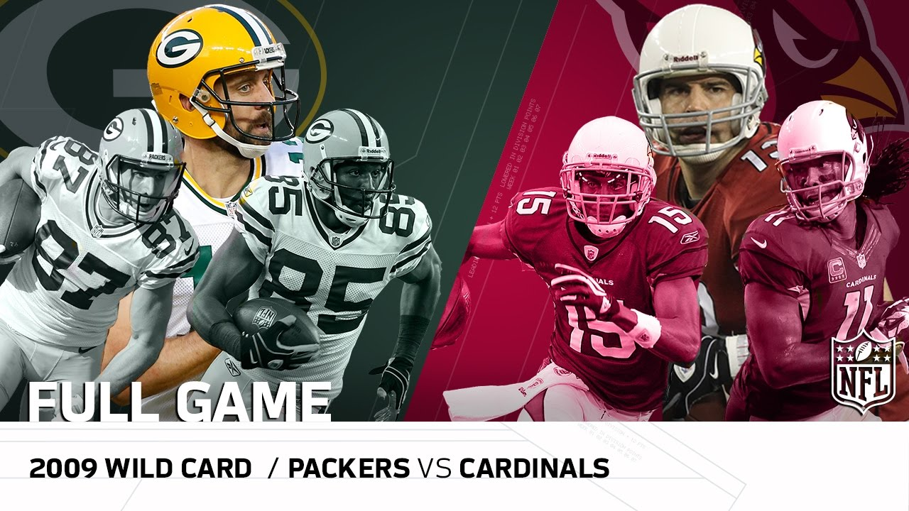 2009 NFC Wild Card: Packers vs. Cardinals |