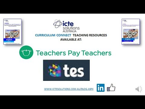 Australian Curriculum Connect Lesson Plans With Ict Teaching