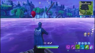 Fortnite THE CUBE TOCO THE WATER OF BALSA BOTIN!!!!!!