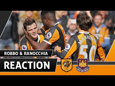 The Tigers v West Ham United | Reaction With Andy Robertson & Andrea Ranocchia | 01.04.17