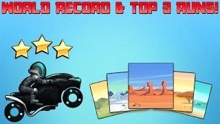 [Bike Race]  - World Records & Top 3 Runs