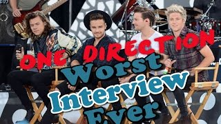 One Direction - Worst Interview Ever - Shreds