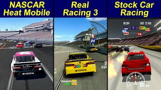 NASCAR Heat Mobile vṡ Real Racing 3 vs Stock Car Racing
