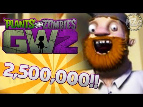 2,500,000 COIN Spending Legendary Hunt! - Plants vs. Zombies: Garden Warfare 2 Gameplay