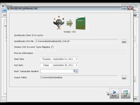 Using the Quickbooks Link - Procare Support