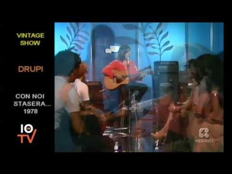 Drupi - Piccola e fragile (Live 1978)