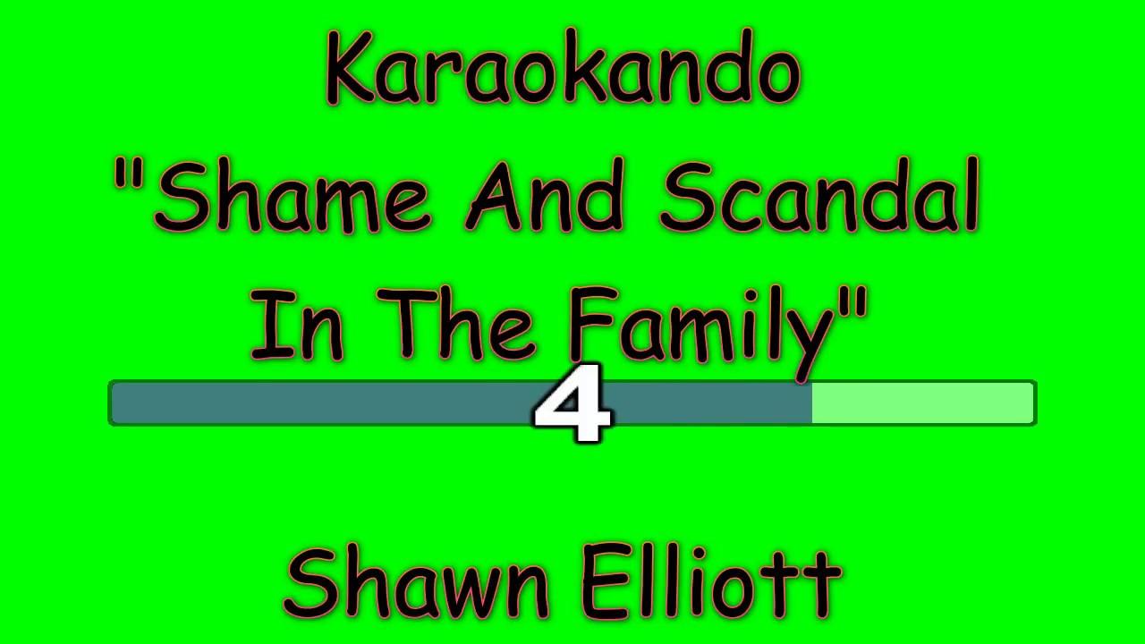 Shame scandal in the family lyrics