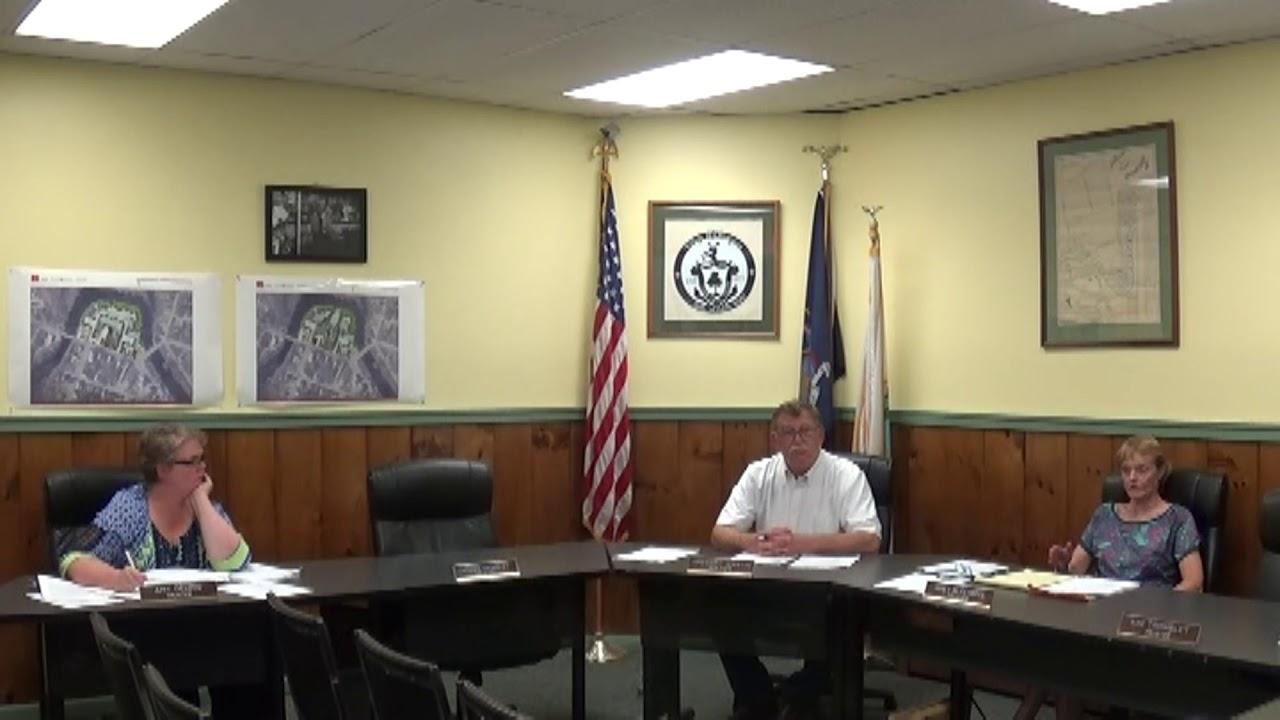 Champlain Village Board Meeting  9-18-17